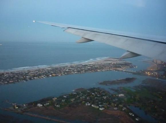 Over Long Island