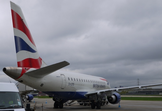 British Airways Embraer 170