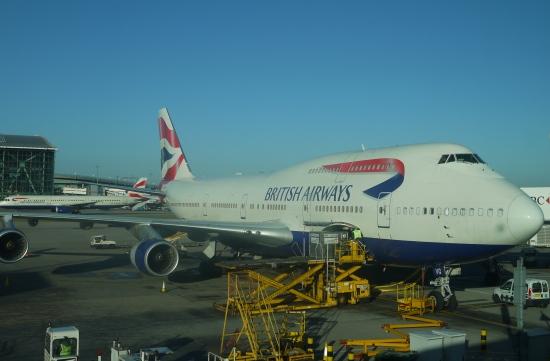 B747 British