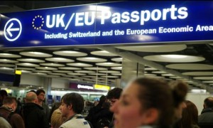 Pasaportes de UK y Europeos