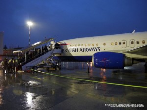 British Airways B734