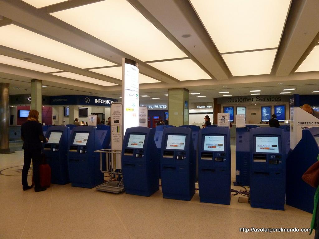 Terminales de autoservicio