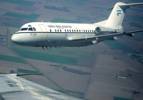 Fokker F28 - No sé si viajé en uno así.