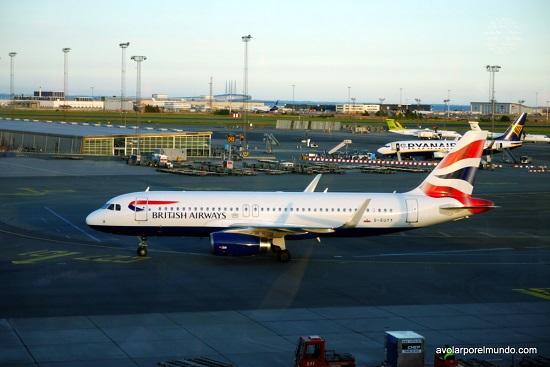 BA A320 Uyuyuy