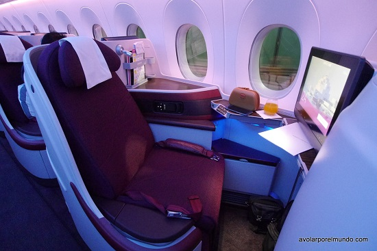Qatar seat