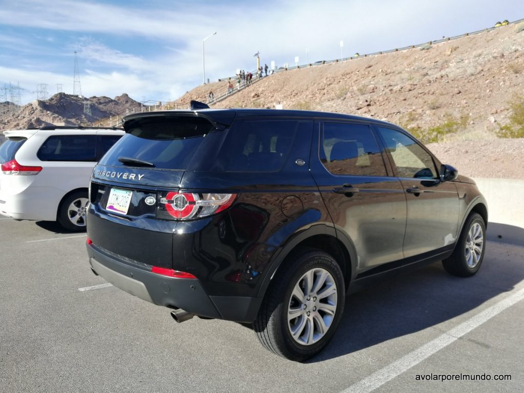 Land Rover Discovery Sport en Hoover Dam