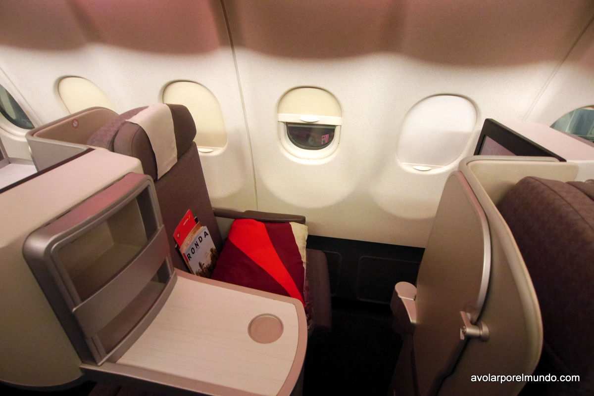Asiento business Iberia