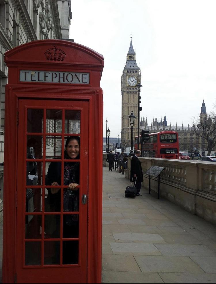 Cabina telefónica y el Big Ben