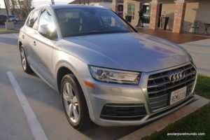 Audi Q5 Silvercar