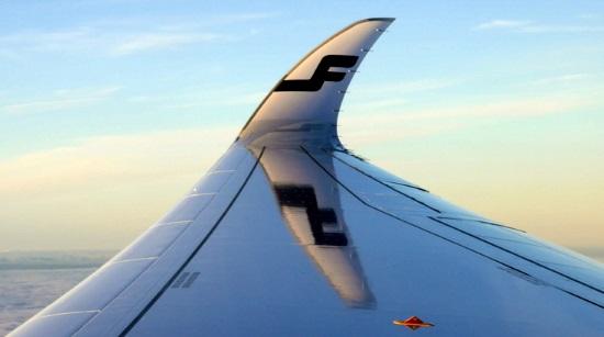 Finnair A350 winglet